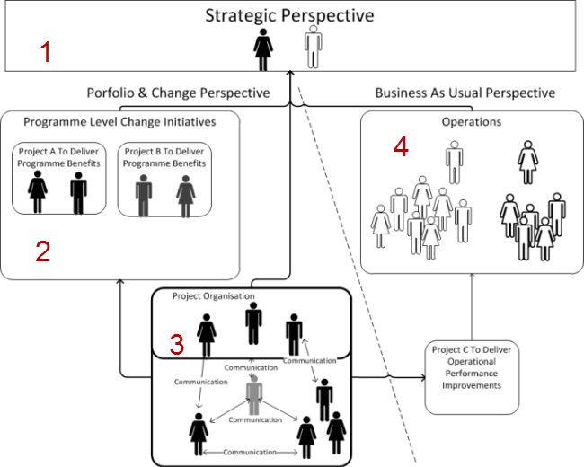 Organizational perspectives for risk management