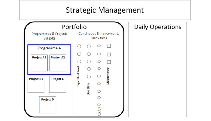 Portfolio management for small and medium organisations