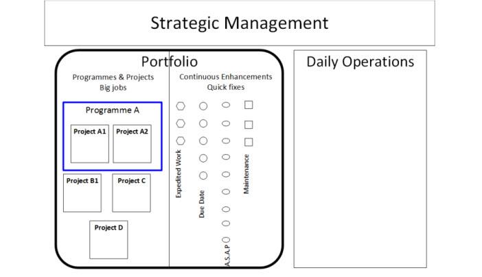 Portfolio management for small and medium organisations
